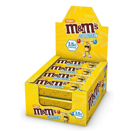12 x  Peanut M&M´s Hi Protein Bar